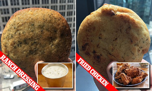 An Ohio bakery makes RANCH DRESSING flavored cookies