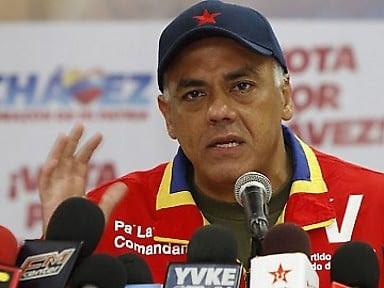 El jefe nacional del Comando de Campaña Carabobo, Jorge Rodríguez