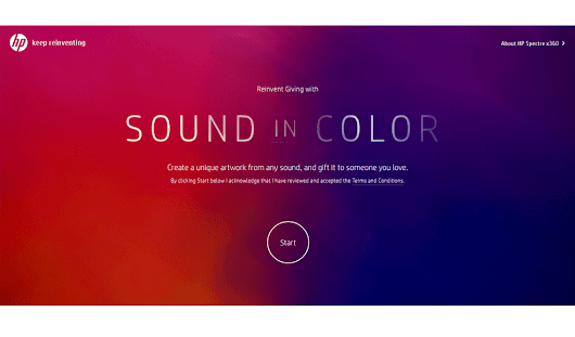 HP Sound in Color