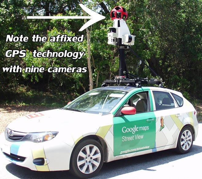 how to look at street view on google maps