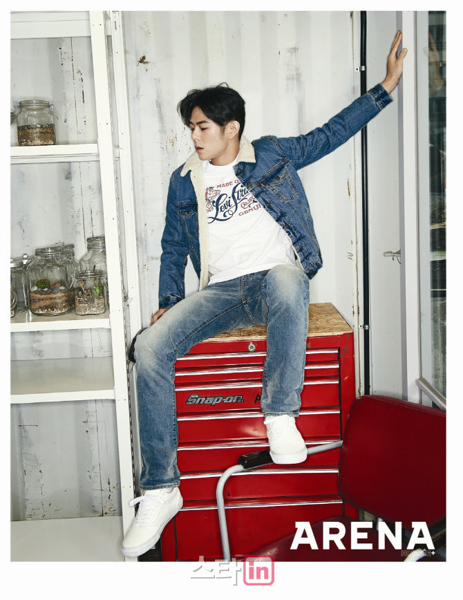 Beenzino - Arena Homme Plus Magazine November Issue '14