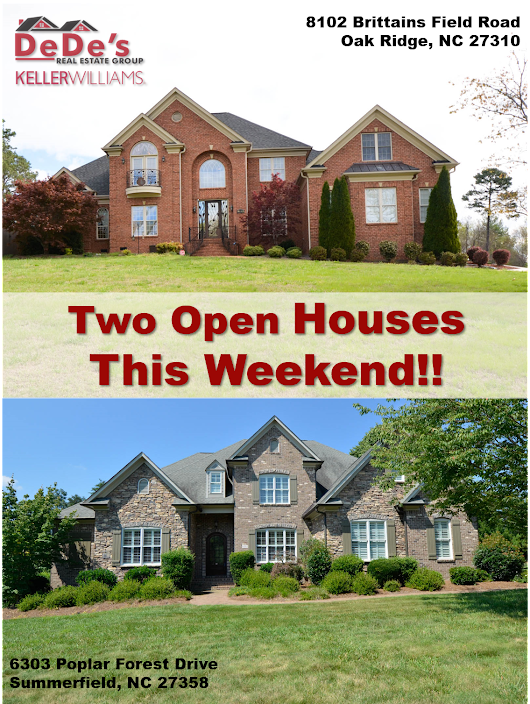 DeDe's Real Estate Group | Two Open Houses This Sunday!