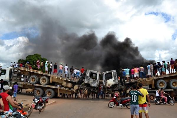 Manifestação em Buriticupu 1