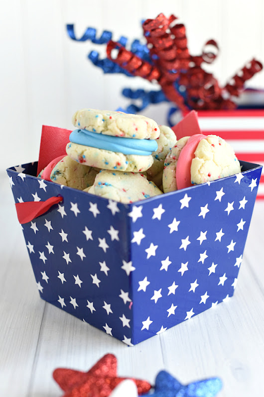 4th of July Dessert-Patriotic Whoopie Pies – Fun-Squared
