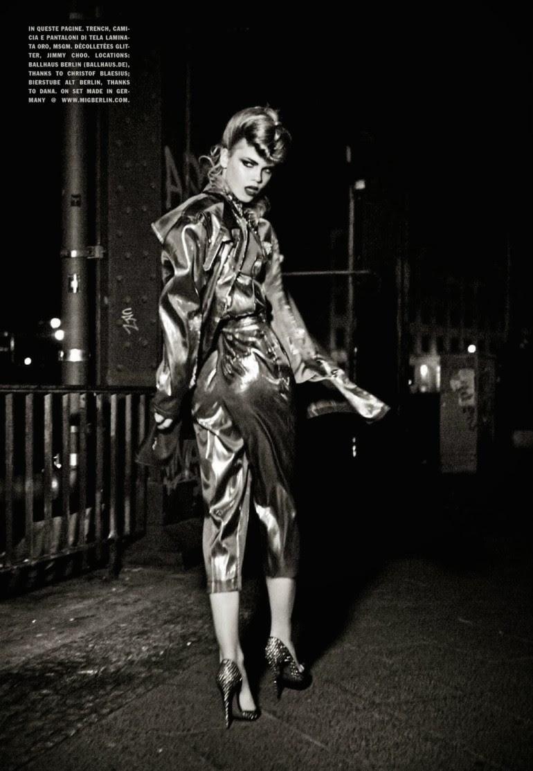 Line Brems 'An Unconventional Mood' Ellen Von Unwerth For Vogue Italia 15