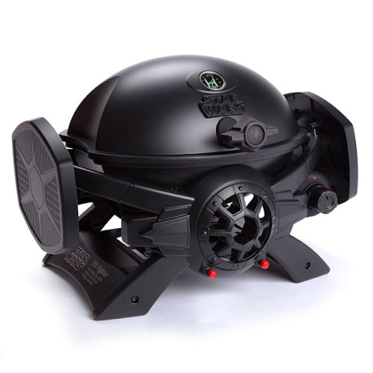 Star Wars TIE Fighter Gas Grill: Imperial BBQ Cooker - Technabob