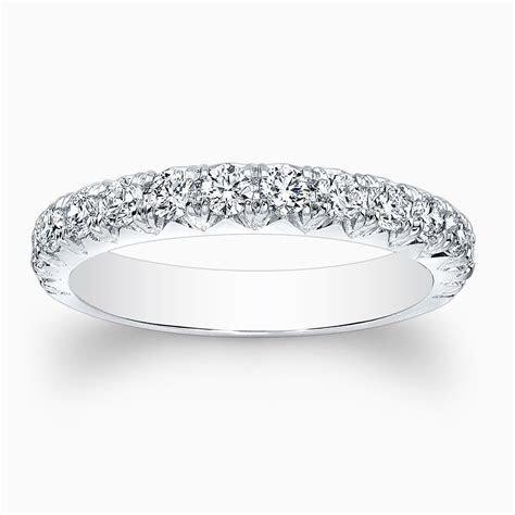 Buy a Hand Made Ladies 14kt Custom Antique Diamond Wedding
