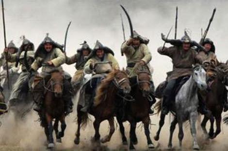 Recreación artística de una invasión de mongoles. | EM