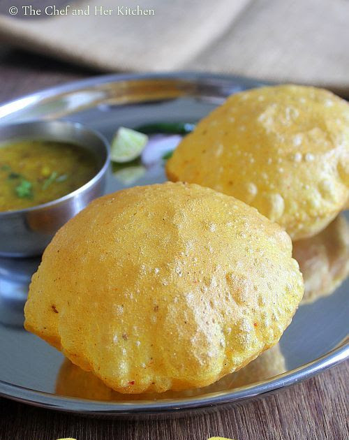 Masala Poori Recipe | Spicy Poori