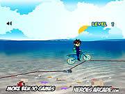 Jogar Ben 10 motocross under the sea Jogos