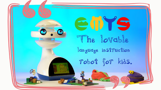 EMYS: The lovable language instruction robot for kids.