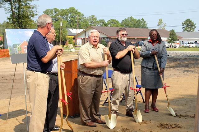 Dorchester Road Community Center Groundbreaking