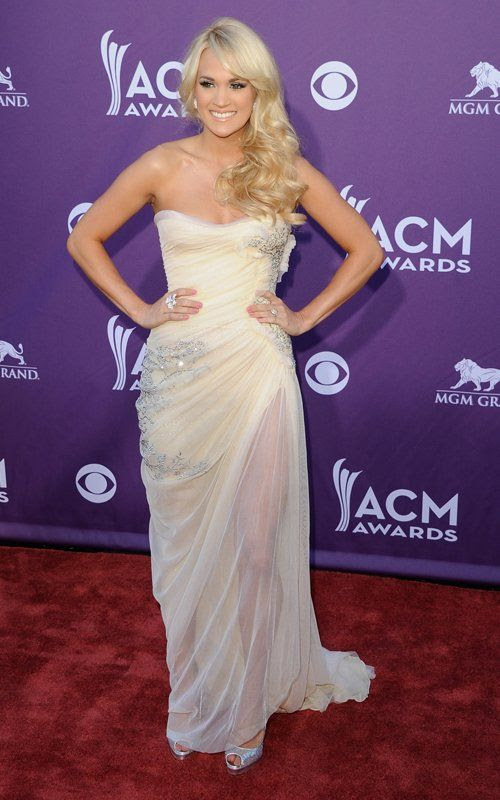 Academy of Country Music Awards - April 1, 2012, Carrie Underwood