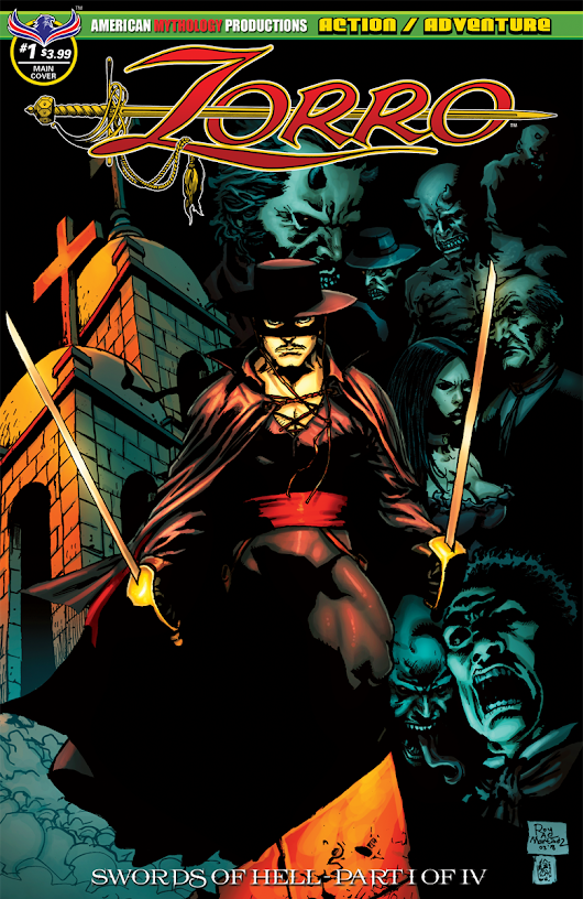 Zorro, The Legendary Masked Hero, Returns To Comics With Supernatural Terror Tales