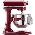 KitchenAid Professional 600 Series KP26M1XER 6-Quart Mixer - Empire Red - 575W