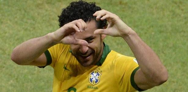 """Fred pediu """"fair play"""" aos jogadores uruguaios na partida da próxima quarta-feira, no Mineirão"""
