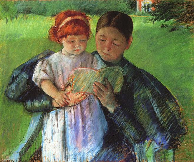 File:Cassatt Mary Nurse Reading to a Little Girl 1895.jpg