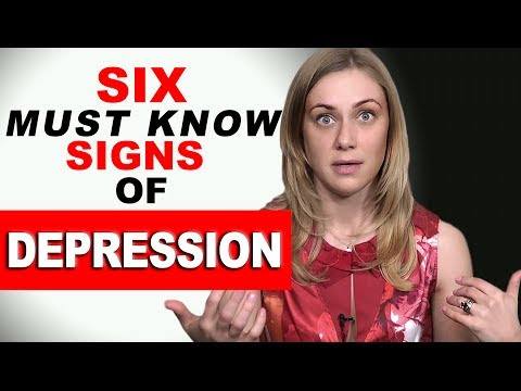 6 MUST KNOW SIGNS of DEPRESSION - video on Wisdom Talkies