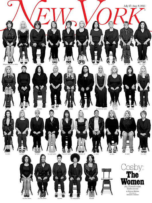 35 Bill Cosby accusers on New York magazine's cover