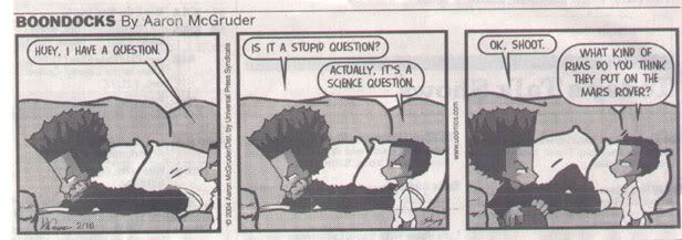 Boondocks comic