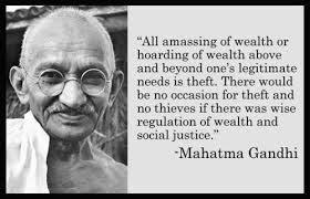 GandhiOnWealth