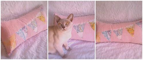 bunting cushion