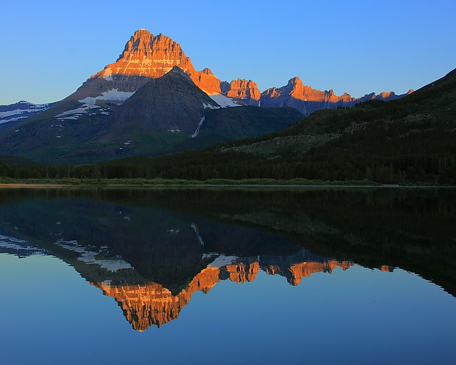 IMG_0516 Mount Wilbur and Iceberg-Ptarmigan Wall, Sunrise, Glacier National Park