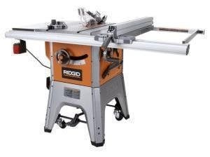 Factory reconditioned ridgid zrr4512 10 inch 13 amp for 10 inch table saw comparison