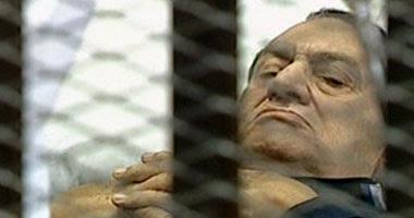 مبارك يعود لقفص الاتهام غداً