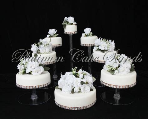 8 TIER CASCADE WEDDING CAKE STAND CUPCAKE STAND (STYLE # 8
