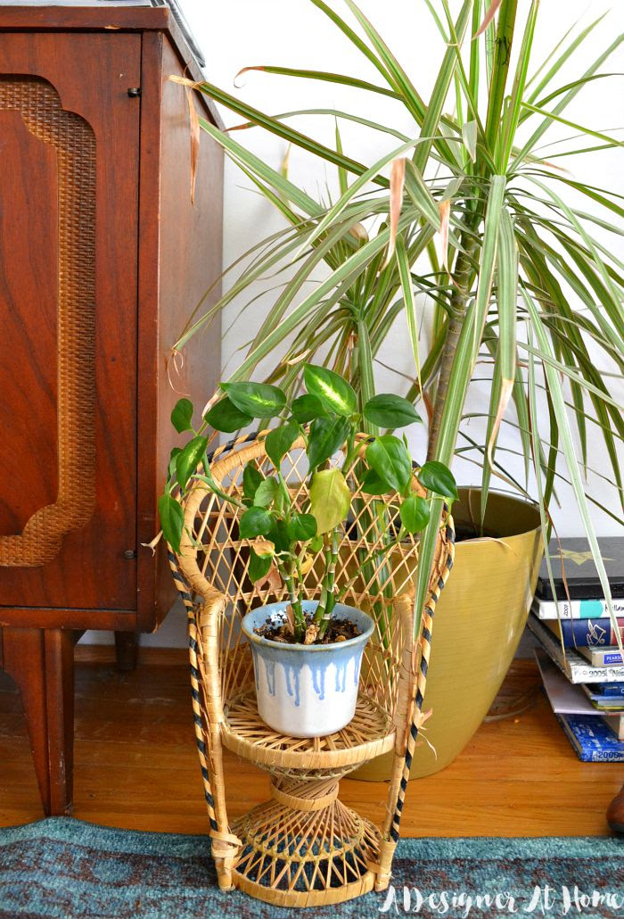 DOLL-SIZED-FANBACK-CHAIR-FOR-50-CENTS-THRIFTED-SCORE-PLANT-STAND