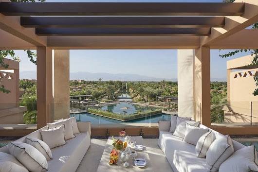 Four Moms Escape to the Mandarin Oriental Marrakech: Adventure ensues