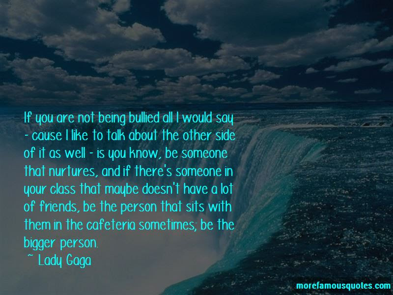 Not Being Bullied Quotes Top 26 Quotes About Not Being Bullied From