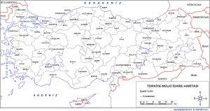 Türkiye Mülki Idare Haritaları