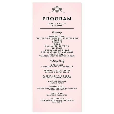 simple wedding programs   Google Search   WEDDING