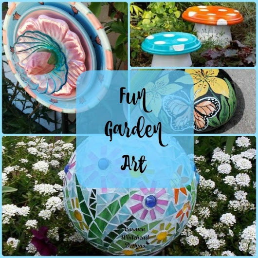 Fun Garden Art - Carmen Whitehead Designs