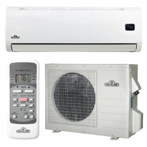 napoleon nlis18 white ductless mini split ductless air conditioner system 18 000 btu nlis18 best. Black Bedroom Furniture Sets. Home Design Ideas