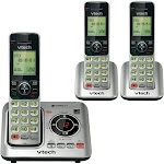 VTech CS6629-3 Expandable Cordless Phone with 2 Handsets