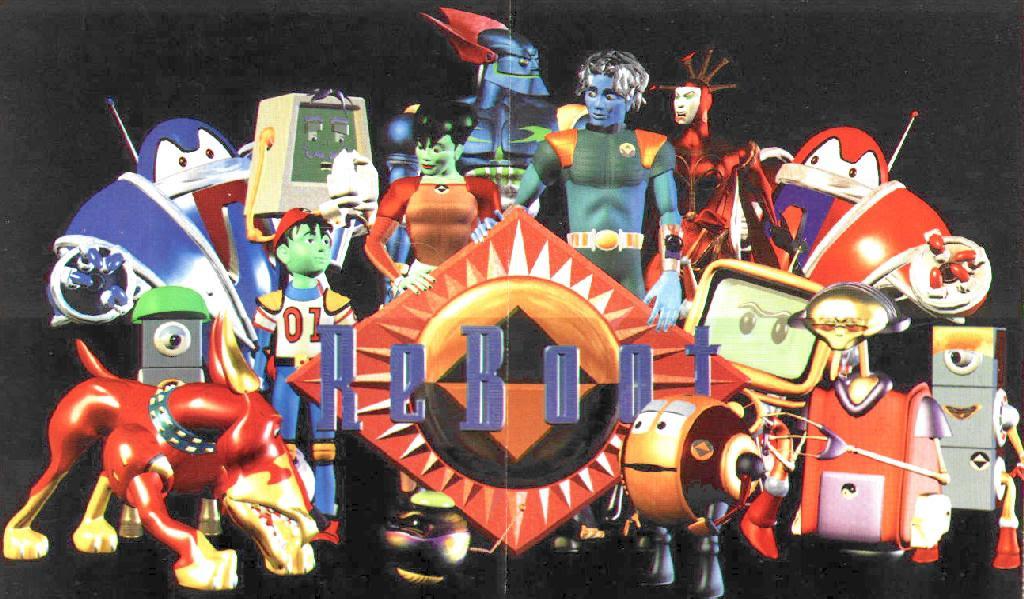Personajes de Reboot