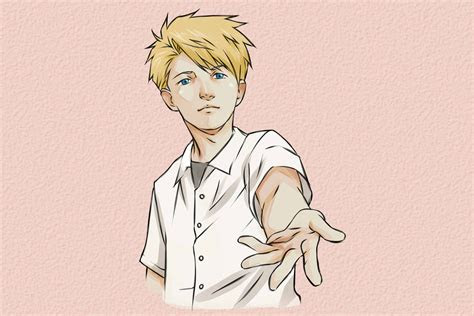 ways  draw anime hands wikihow