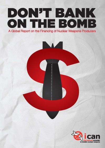 as nações com poderio nuclear gastam mais de 100 mil milhões de dólares por ano fabricando novas ogivas, modernizando as velhas e construindo mísseis balísticos, bombardeiros e submarinos para lançá-las