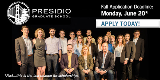 ☰ June 20 Deadline ☰ Become a Presidian this fall!