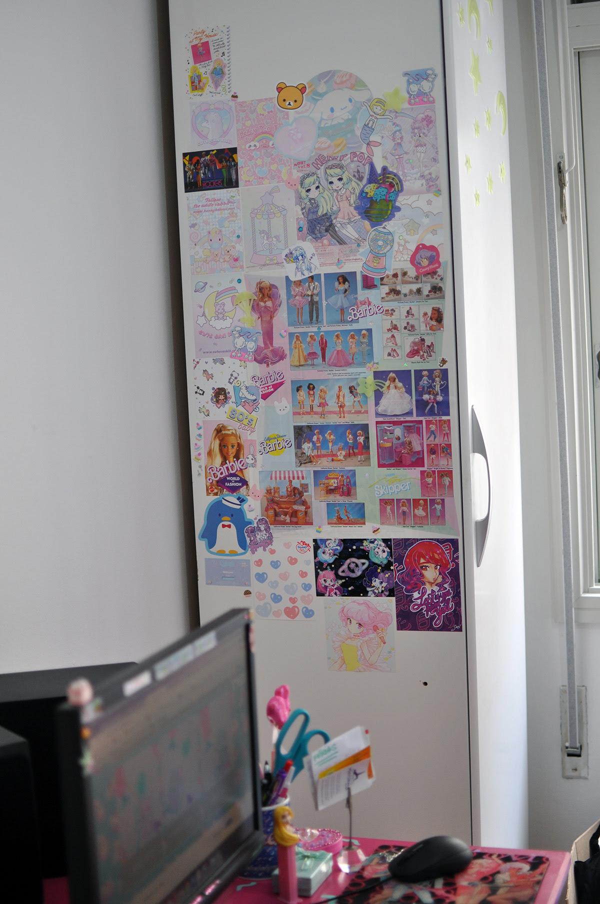 armário decorado