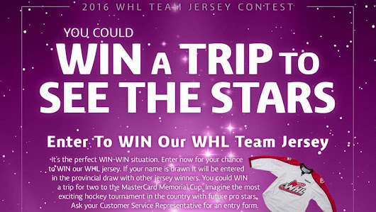 WHL Jersey Contest 2016 - Rempel Insurance