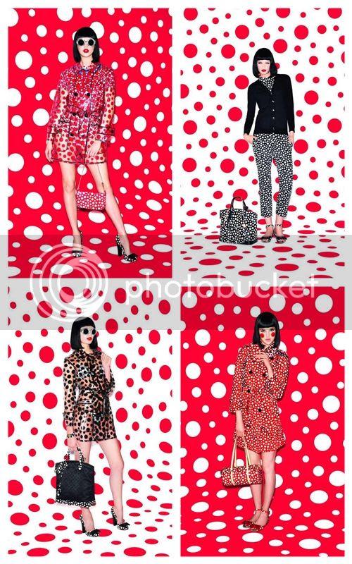 First Look: Louis Vuitton and Yayoi Kusama Collaboration