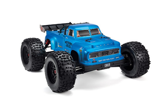 ARRMA® NOTORIOUS 6S STUNT TRUCK 1/8 4WD BRUSHLESS RTR