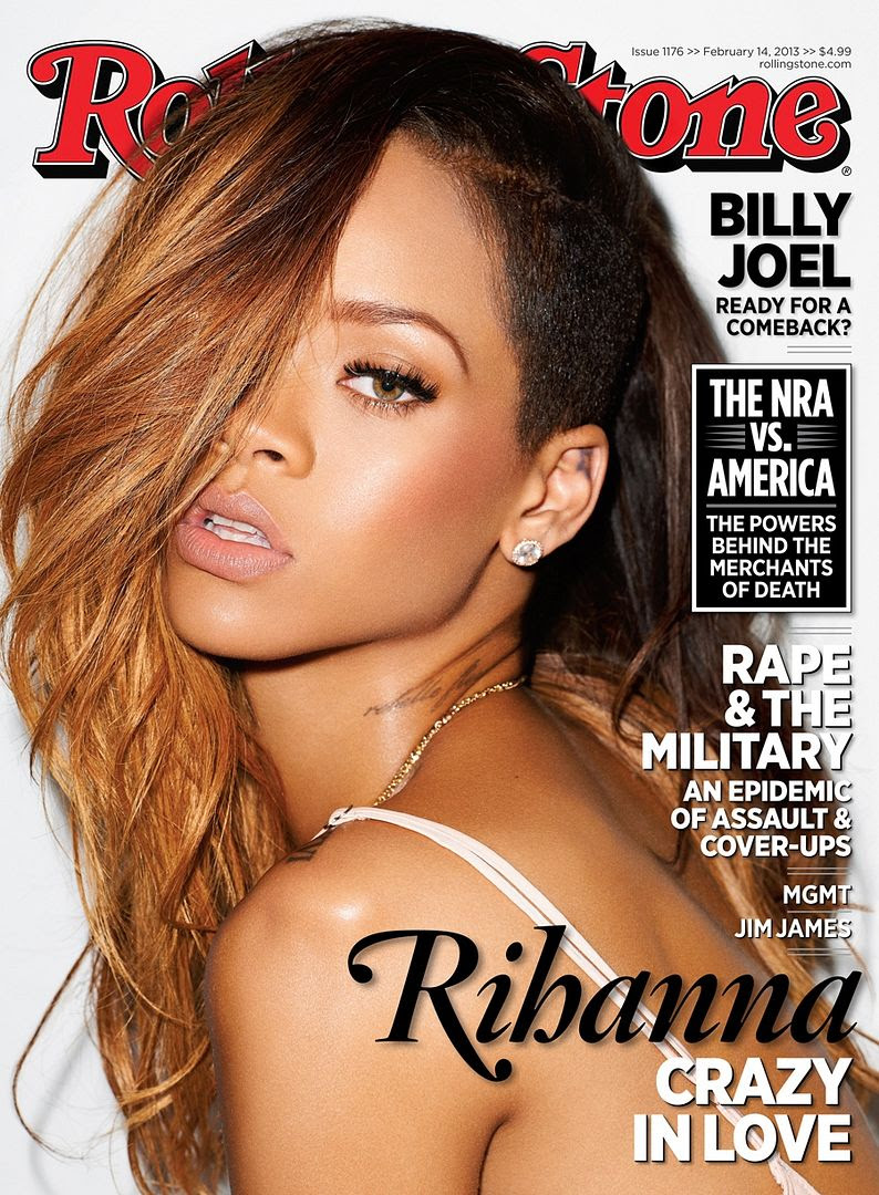 Rolling Stone (2/14/13), Rihanna