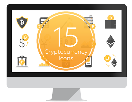 Cryptocurrency Icons for PowerPoint