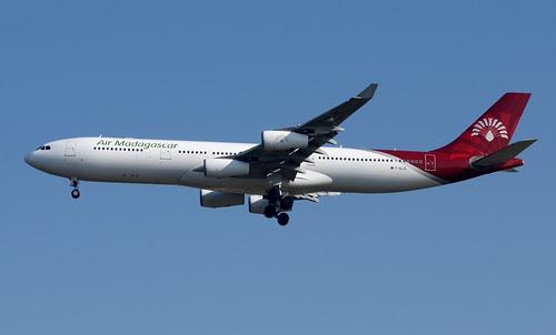 Air Madagascar A340