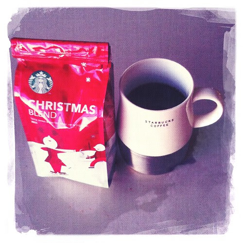 x-mas + starbucks coffee